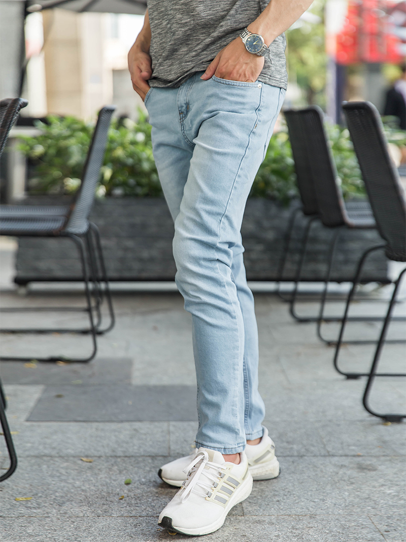 Quần Jeans Skinny Xanh Biển Đậm QJ1620