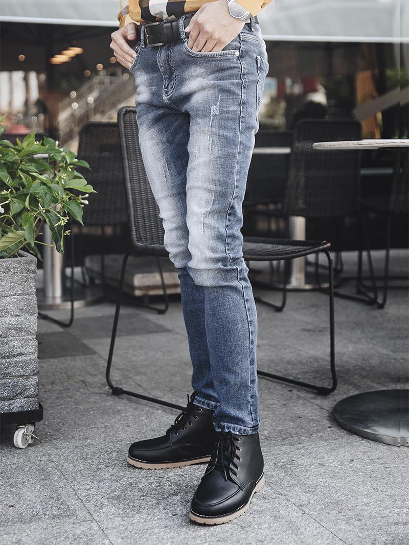 Mẹo chọn mua quần jean nam theo dáng người của bạn - 259347