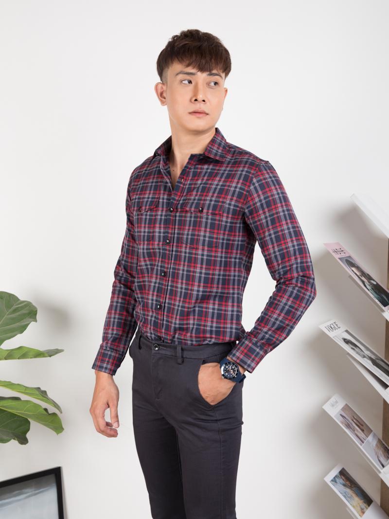 Chia sẻ kinh nghiệm chọn áo sơ mi nam cho người có vóc dáng nhỏ - 261816