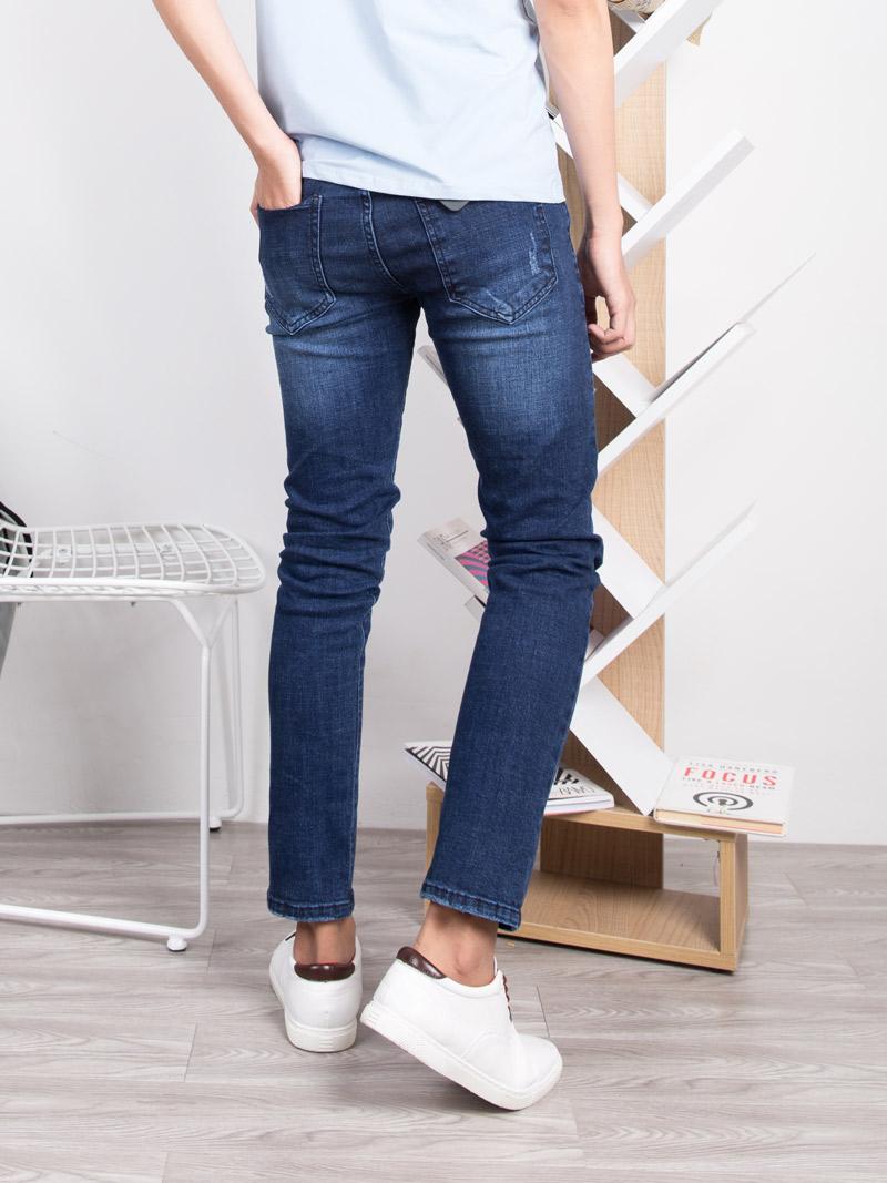 Tận dụng xu hướng thời trang tuyệt đẹp cùng quần jean rách nam - 260092