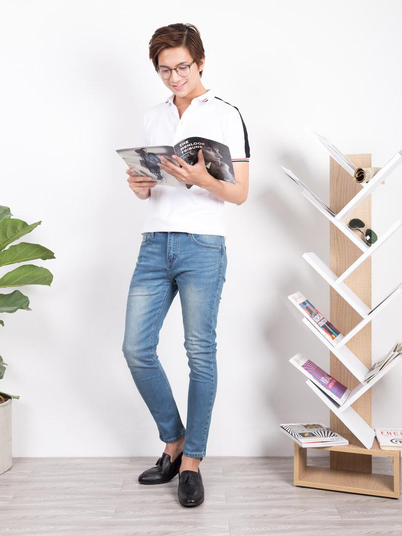 Quần Jeans Skinny Xám QJ1641