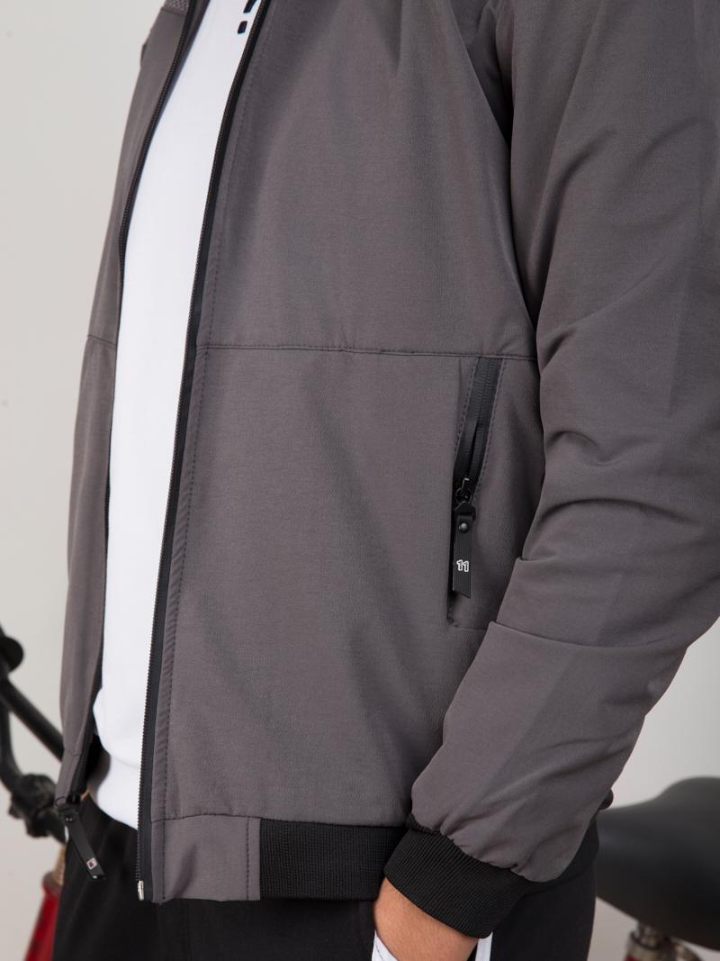 Áo Khoác Kaki Xám AK260