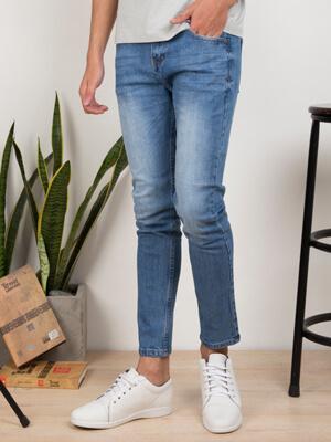 Quần Jeans Skinny Xanh Dương QJ1634