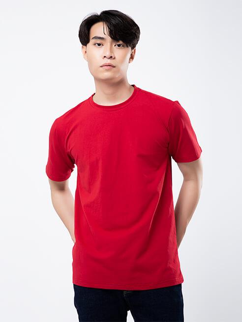 Áo Thun Regular AT848 Màu Đỏ