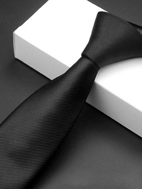 Cà Vạt Hàn Quốc Đen CV220