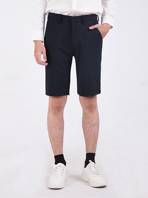 Quần Short Slimfit Màu Xanh Đen QS205