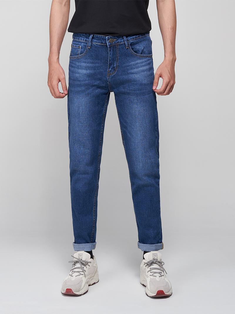 Quần Jeans Slimfit Xanh Biển Đậm QJ1644