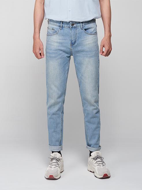 Quần Jeans Slimfit Xanh Biển QJ1644