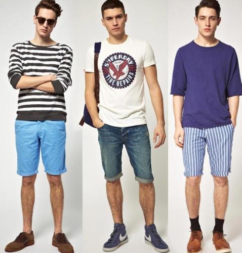 Cách mix quần short nam cho hè thêm năng động