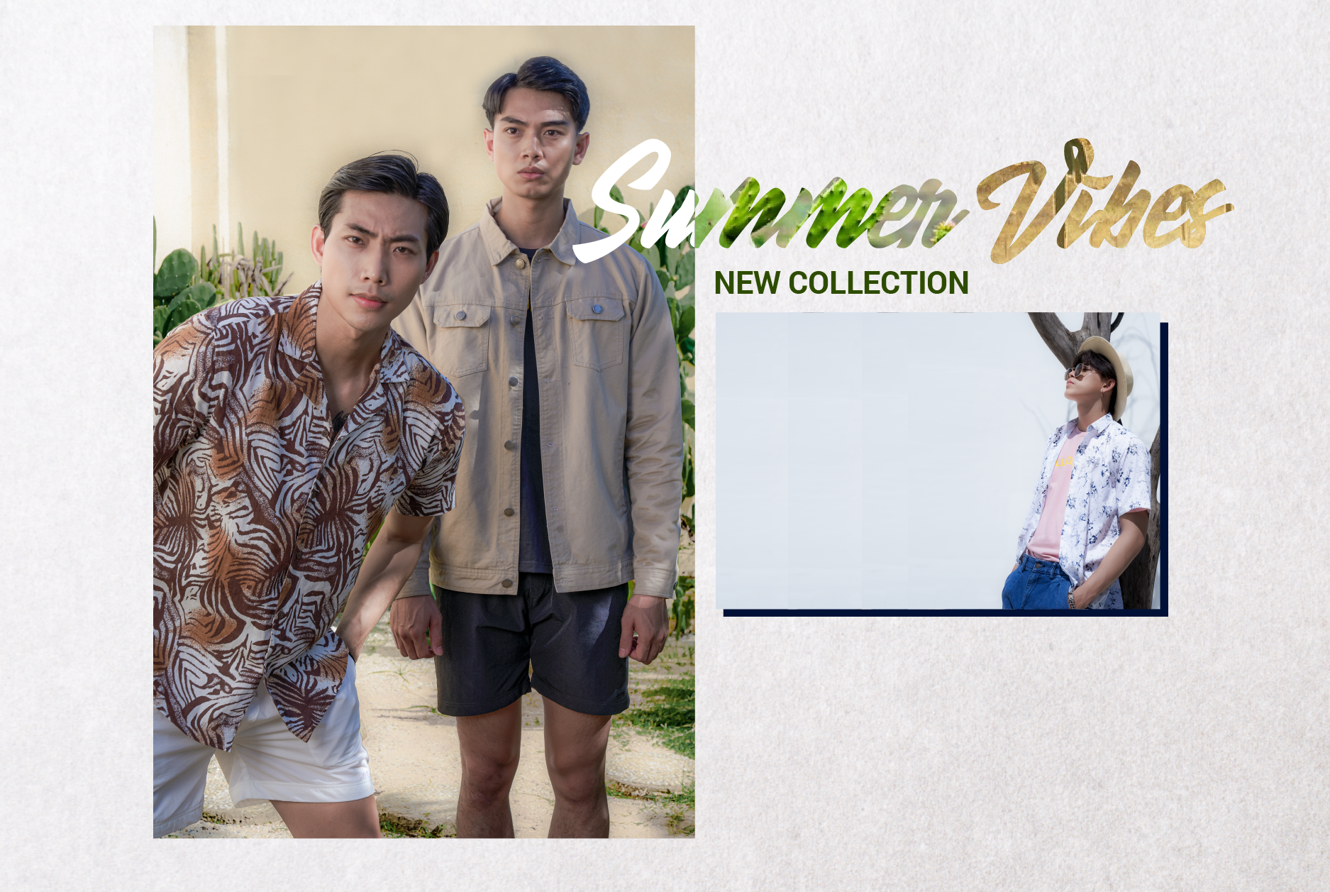 NEW COLLECTION   SUMMER VIBES