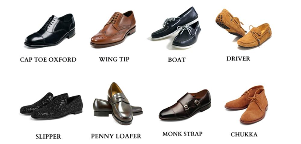 8 Kiểu Giày Da Cơ Bản Cho Nam