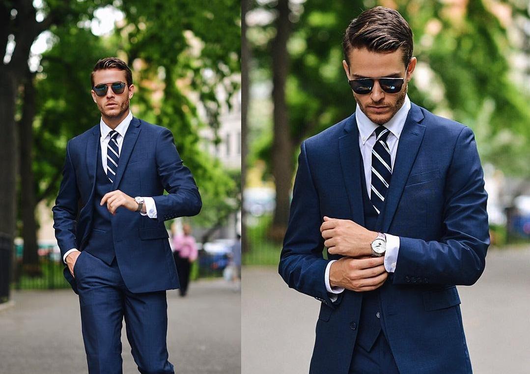 Bí quyết mặc đẹp cho nam giới khi dự tiệc cưới