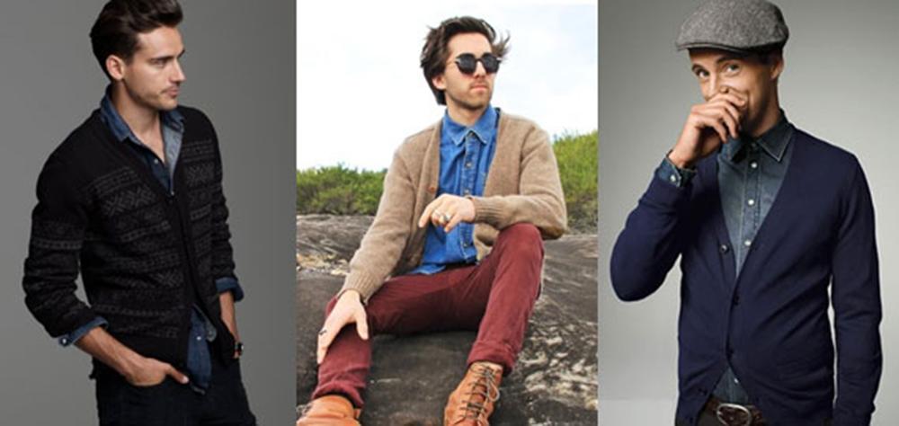 Mách Chàng 3 Cách Mix Đồ Hoàn Hảo Cùng Áo Khoác Cardigan