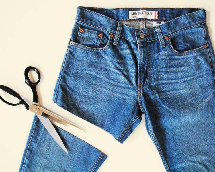 Mẹo hô biến quần cũ thành quần lửng nam cá tính