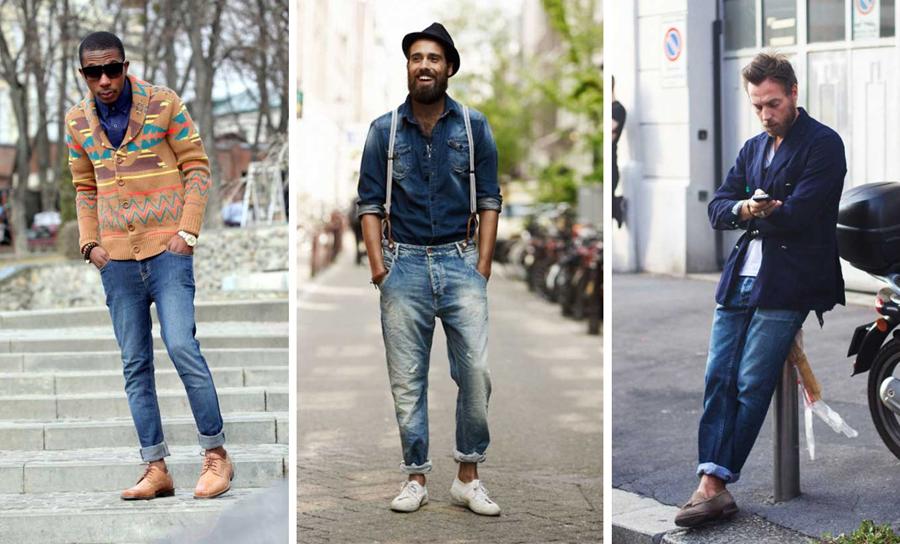 Tuyệt chiêu mặc quần jean không lo phai màu cho các chàng